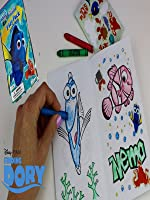 FINDING DORY Coloring Play Pack GRAB & GO Target Store $1 Bin Item