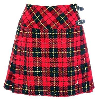 The Scotland Kilt Company Nuevo de Mujer Wallace de Cuadros ...