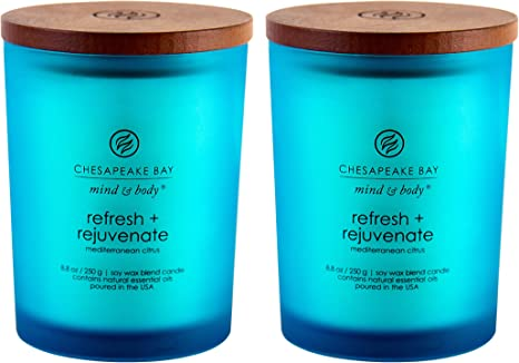 2 Body Fragrance Candles