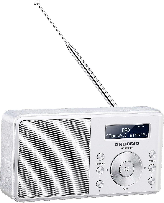 Grundig Music 6000 Dab Portables Radio Weiß Heimkino Tv Video