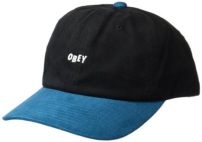 Amazon.com  Obey Men s 90 S Jumble 6 Panel Snapback HAT dd1a1f44889
