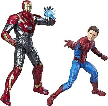 Spider-Man Pack de 2 Figuras Homecoming, de Marvel Legends: Amazon ...