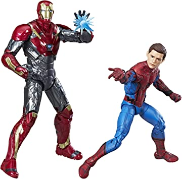 Spider-Man Pack de 2 Figuras Homecoming, de Marvel Legends: Amazon.es: Juguetes y juegos