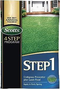 SCOTTS LAWNS 39181 Crabgrass Preventer Plus Fertilizer, 5m
