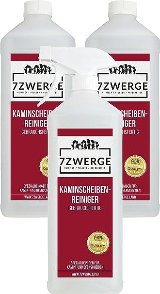 7zwerge - Limpiador de cristales de chimeneas (con cabezal ...