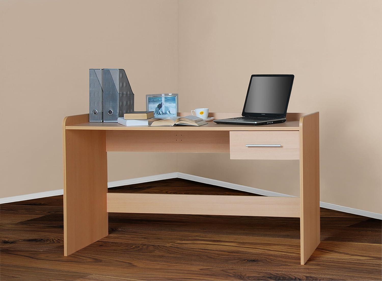 4510 -2- Kinderschreibtisch Schreibtisch, höhenverstellbar, 140cm breit (buche) höhenverstellbar Möbeldesign Team 2000