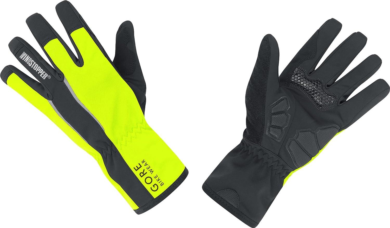 Gore Bike Wear Power Soft Shell - Guantes de ciclismo para hombre, color amarillo/negro (neon yellow/black), talla:6: Amazon.es: Ropa y accesorios