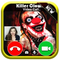 Video Live Call From Creepy Scary Clown Killer - Free Fake Phone Game Calls ID PRO 2020 - PRANK GAME