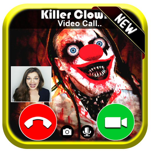 Video Live Call From Creepy Scary Clown Killer - Free Fake Phone Calls ID PRO 2019 - PRANK GAME]()