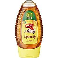 Dabur 100% Pure Honey Squeezy, 225g (Buy 1 Get 1 Free)
