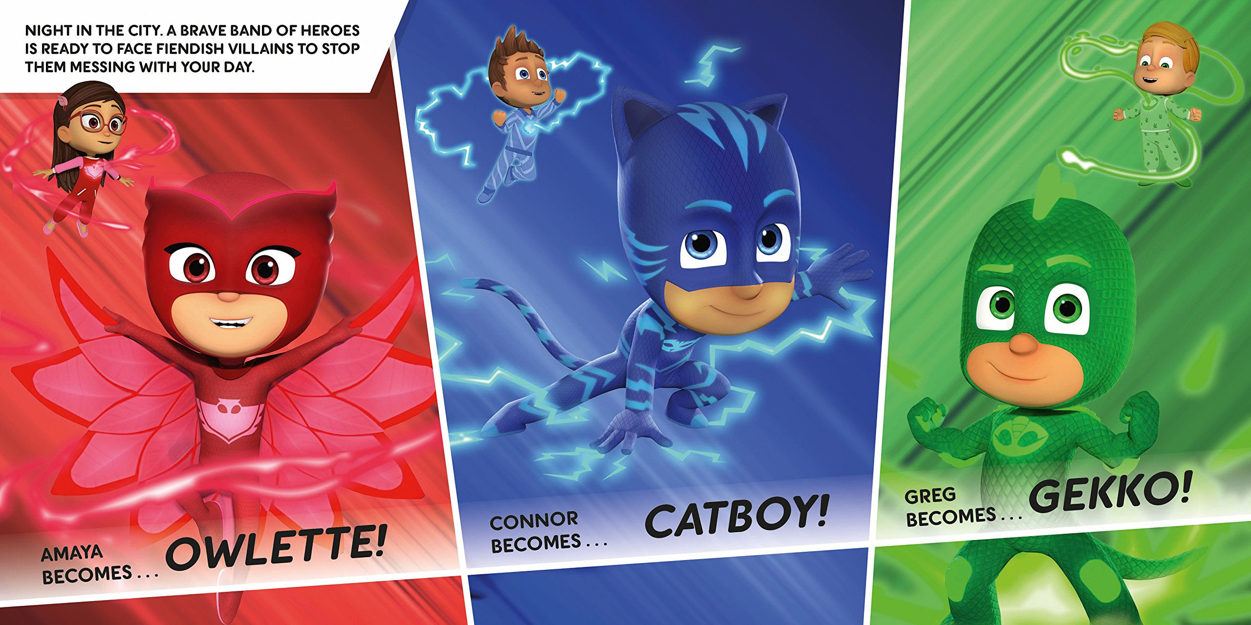 Battle of the HQs: A PJ Masks story book: PJ Masks Pat-a-Cake: 9781526380463: Amazon.com: Books