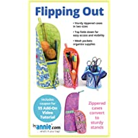 by Annie Flipping Out Zippered Cases Sewing Pattern