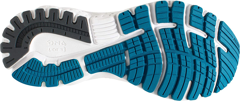 Brooks Adrenaline GTS 19, Scarpe da Running Donna Blu Blue Aqua Ebony 417