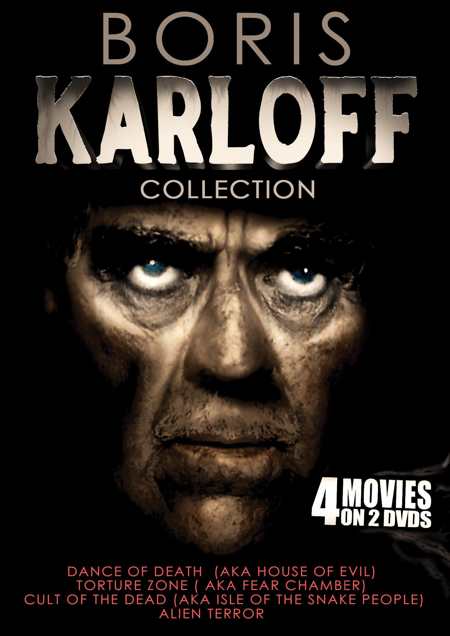 DVD : Boris Karloff Collection (2PC)