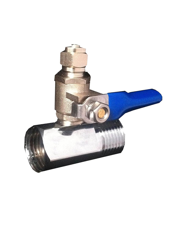 Ósmosis inversa agua fría alimentación conexión a válvula ajuste 0 ...
