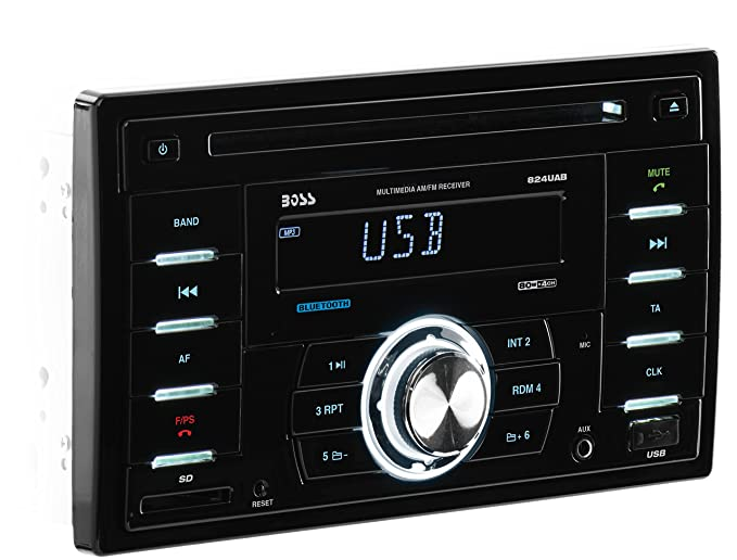 amazon com boss audio 824uab double din cd mp3 player receiver rh amazon com
