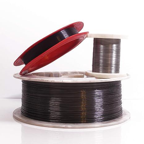 1.0mm 80 C 0.040 176 F 5 Feet Nitinol Shape Memory Pre-trained Wire