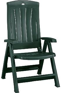 Gartenstühle kunststoff grün  Amazon.de: Klappbarer Gartenstuhl Klappstuhl Klappsessel 5 ...