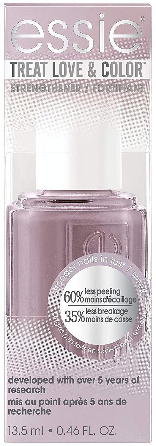 essie Treat Love & Color Nail Polish For Normal to Dry/Brittle Nails, On The Mauve,. 0.46 fl. oz.