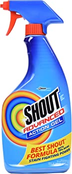 SC Johnson Shout Advanced Stain Remover Gel 22 oz only $3 97