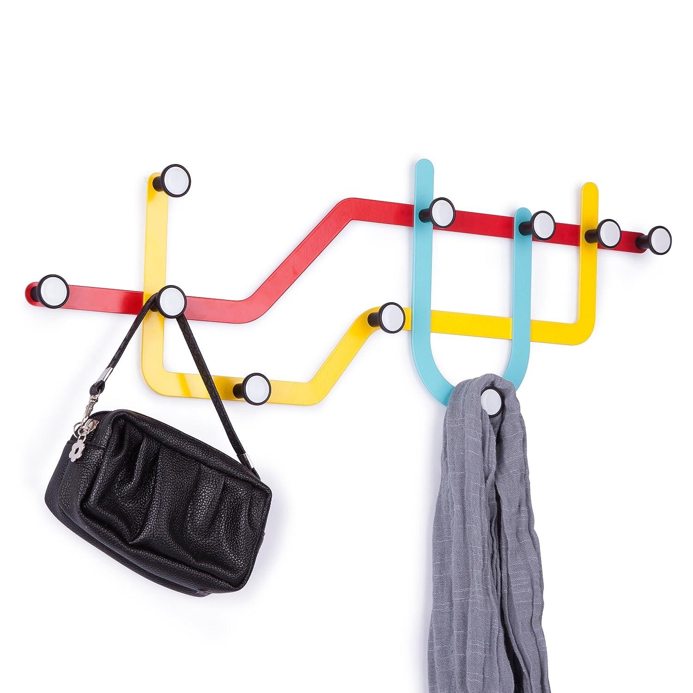Multicolored Umbra Subway Hooks