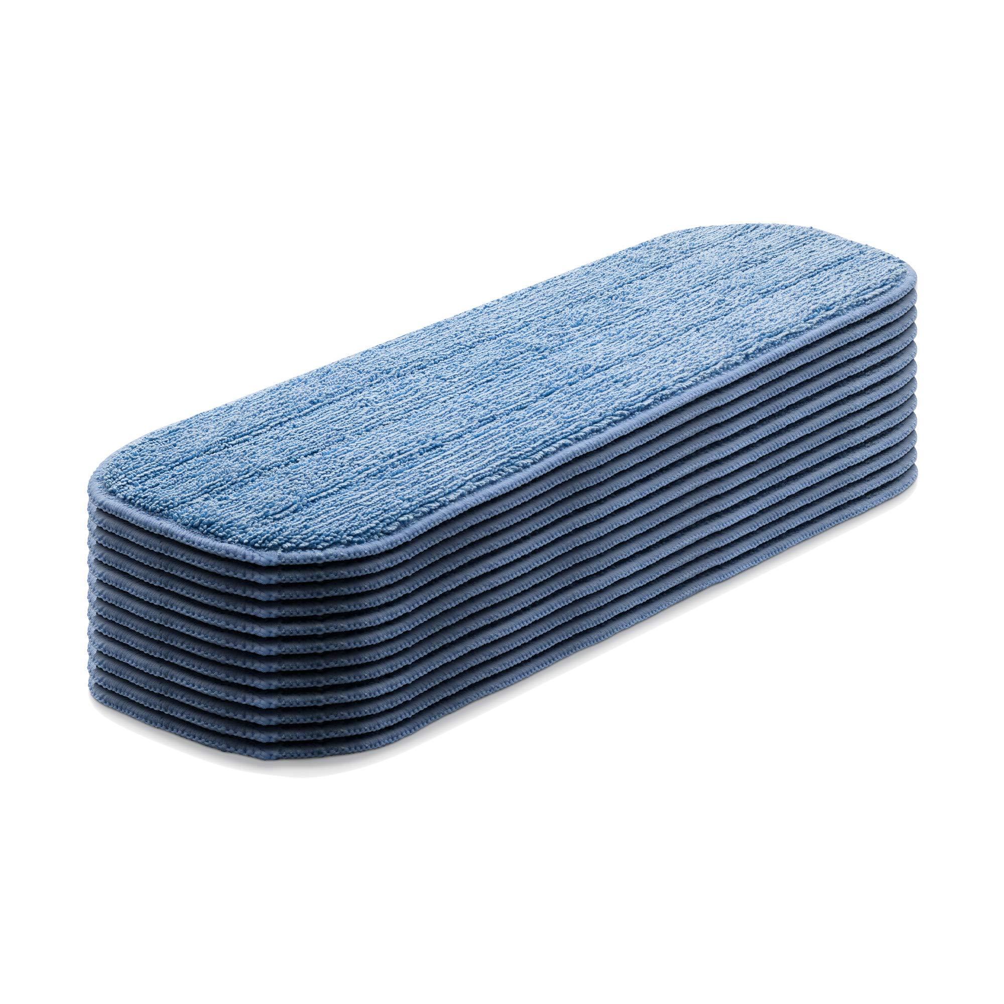 E-Cloth Deep Clean Mop Head, Microfiber Damp Mop Head, 12 Count by E-Cloth