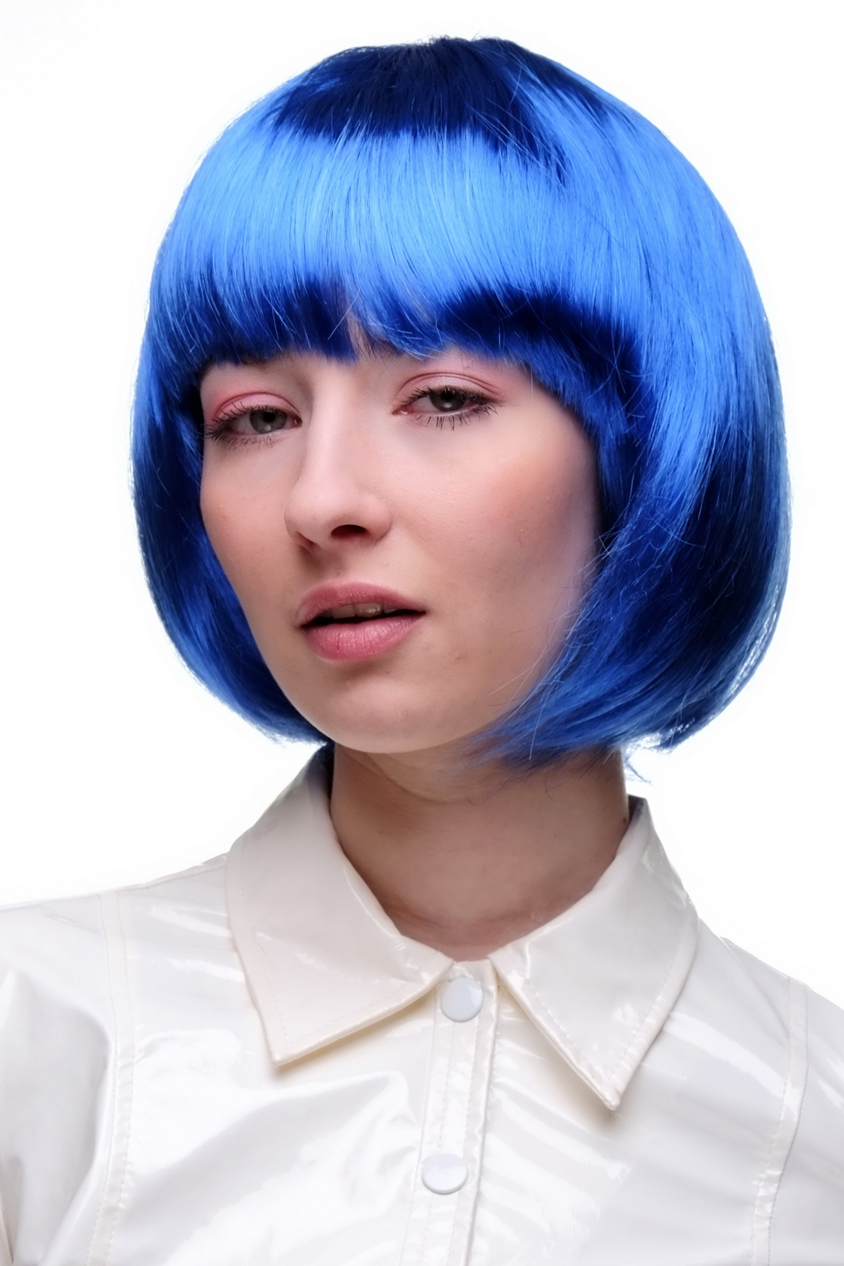Peluca corte BOB, azul, disco PW0114-PC3 product image