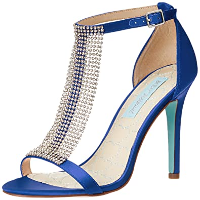 9ed199dc3 Amazon.com   Blue by Betsey Johnson Women's Mesh Dress Pump   Heeled ...