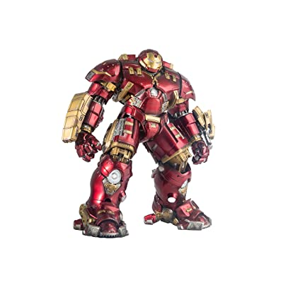 Comicave Studios Marvel Iron Man Mark XLIV (44) Hulkbuster Collectible Figure: Toys & Games