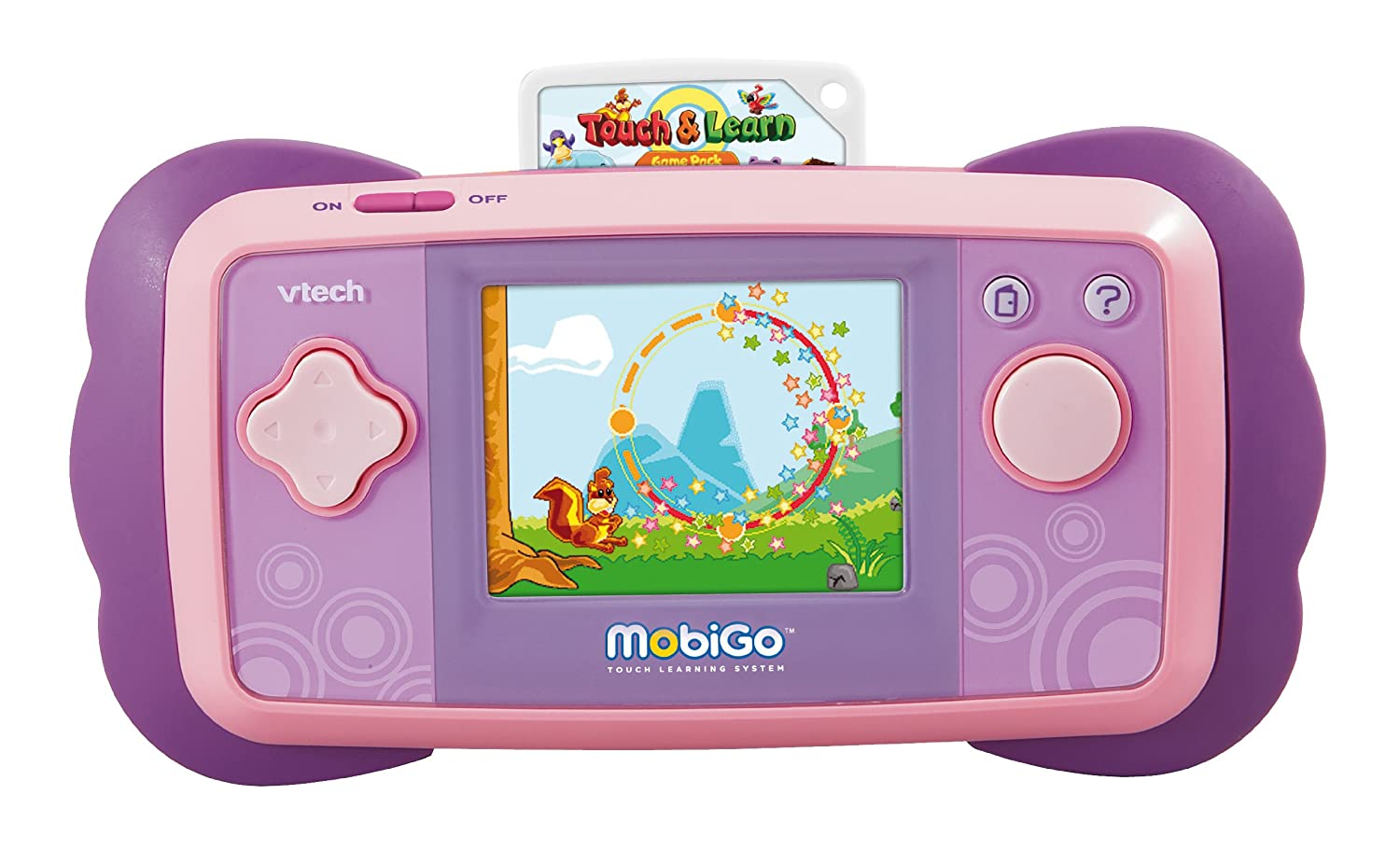 60d2169d6f Amazon.com  VTech - MobiGo Touch Learning System - Pink  Toys   Games