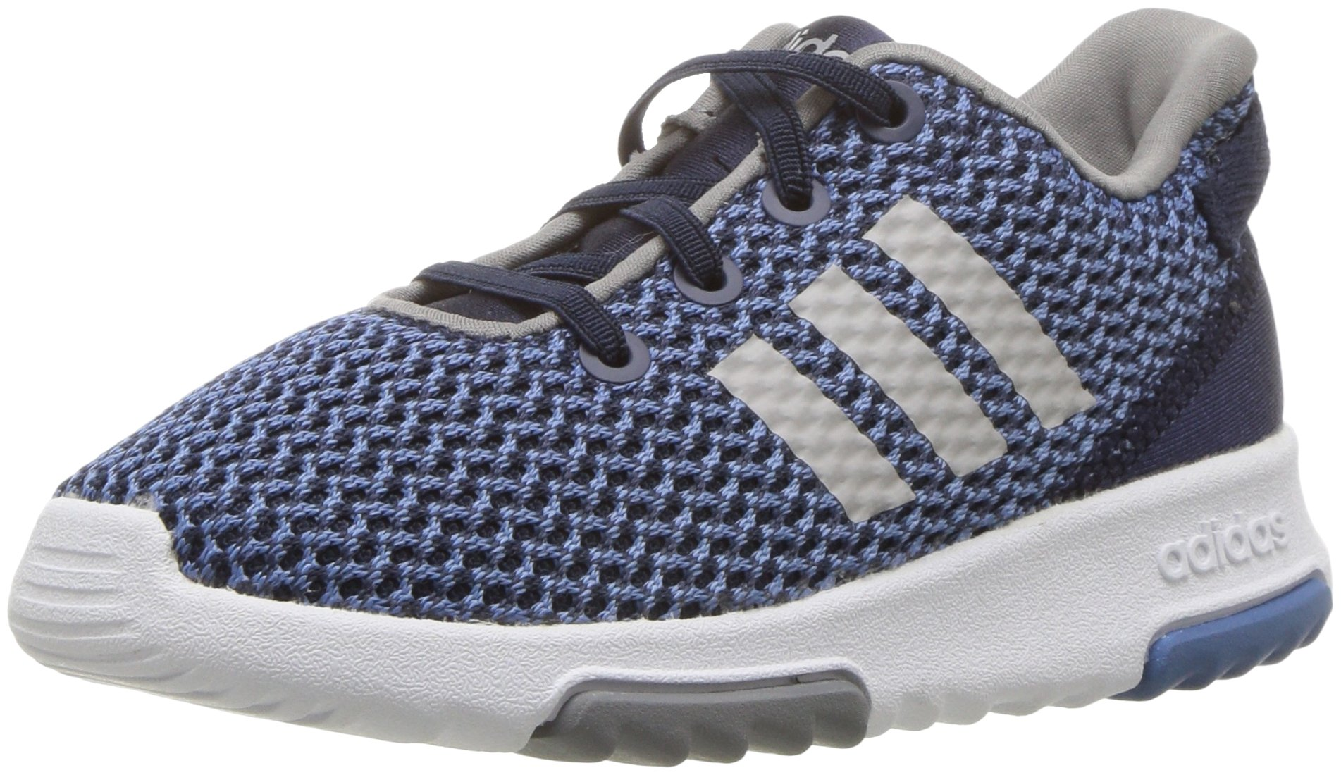 adidas Kids CF Racer TR Running Shoe, Collegiate Navy/Collegiate Navy/Grey, 4K M US Toddler