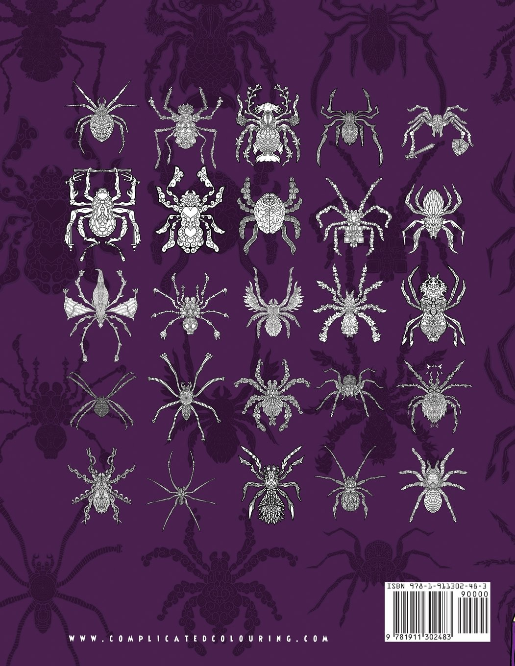 Complicated Spiders: Colouring Book (Complicated Colouring) by Complicated Coloring (Image #2)