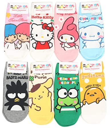 Womens Sanrio Characters Cartoon Novelty Socks by Customonaco