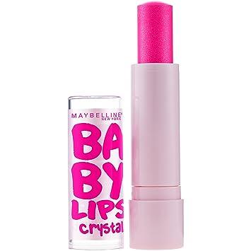 b357b7297a2eb Maybelline New York Baby Lips Crystal Lip Balm, Pink Quartz [140] 0.15 oz