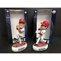 $99 » Set of 2 ~ SHOHEI OHTANI 2018 Los Angeles Angels Limited Edition Bobblehead's pitching…