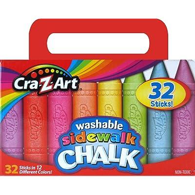 Cra-Z-Art Sidewalk Chalk (32 Count): Toys & Games