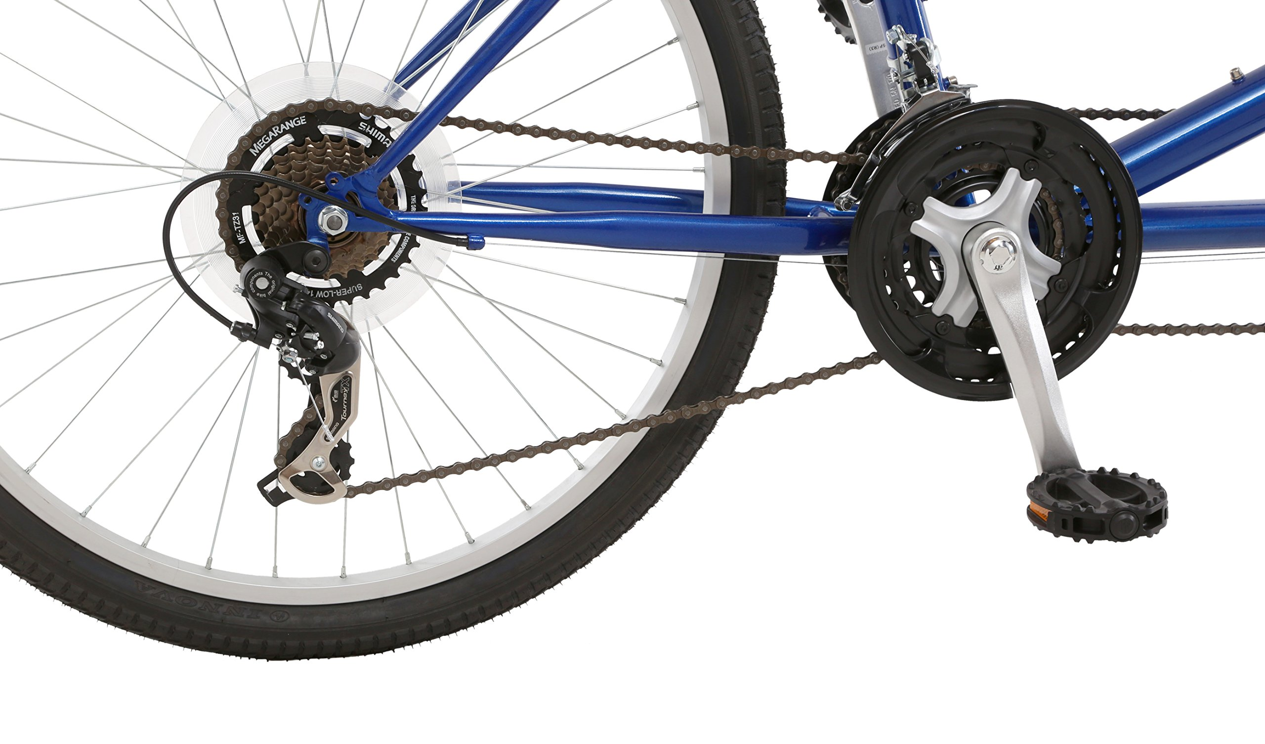 Pacific Dualie Tandem Bicycle w/ 26inch Wheels,Blue, One Size by Pacific (Image #3)