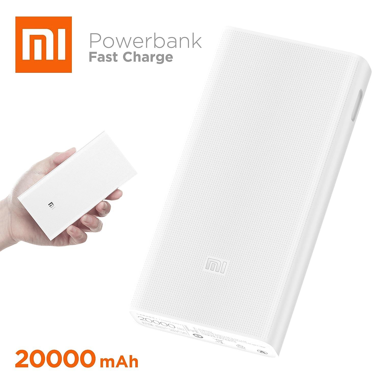 Xiaomi 20000 2C batería Externa Blanco Ión de Litio 20000 mAh - Baterías externas (Blanco, Universal, ABS,PVC, Rectángulo, Ión de Litio, 20000 mAh)