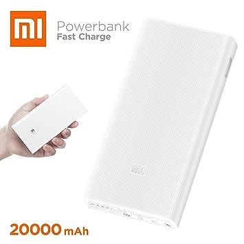 Xiaomi Mi Power Bank 2 Polímero de Litio 20000mAh Blanco batería Externa - Baterías externas (Blanco, ABS sintéticos, Policarbonato, Universal, ...