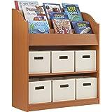 Elegant Book And Bin Storage Center   School Supply Furniture, Kids Toy Organizer  Bookcase