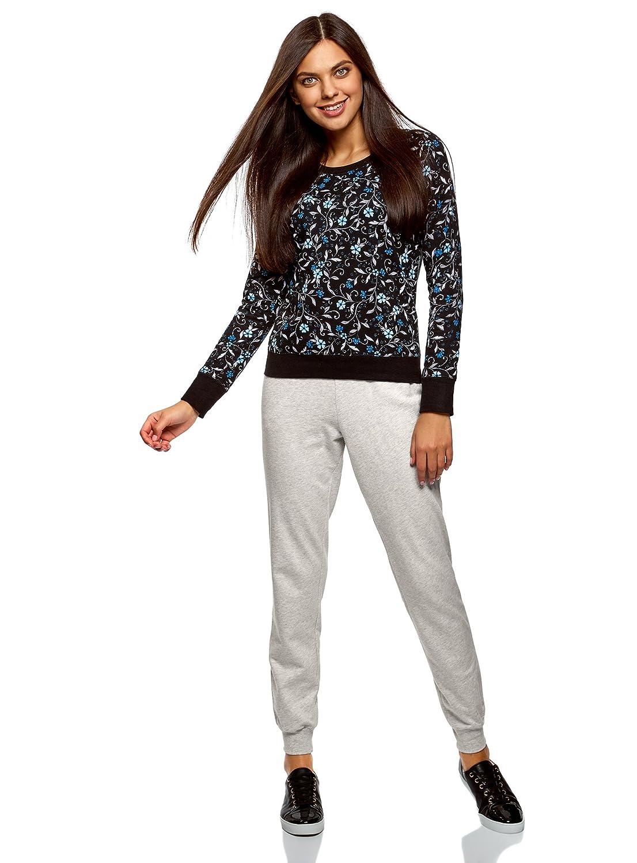 oodji Ultra Mujer Pantalones de Punto  (Pack de 3 ) RIFICZECH s.r.o. ... 36599a30f17