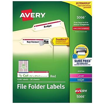 Amazon.com: Avery Etiquetas autoadhesivas Laser/Inyección de ...