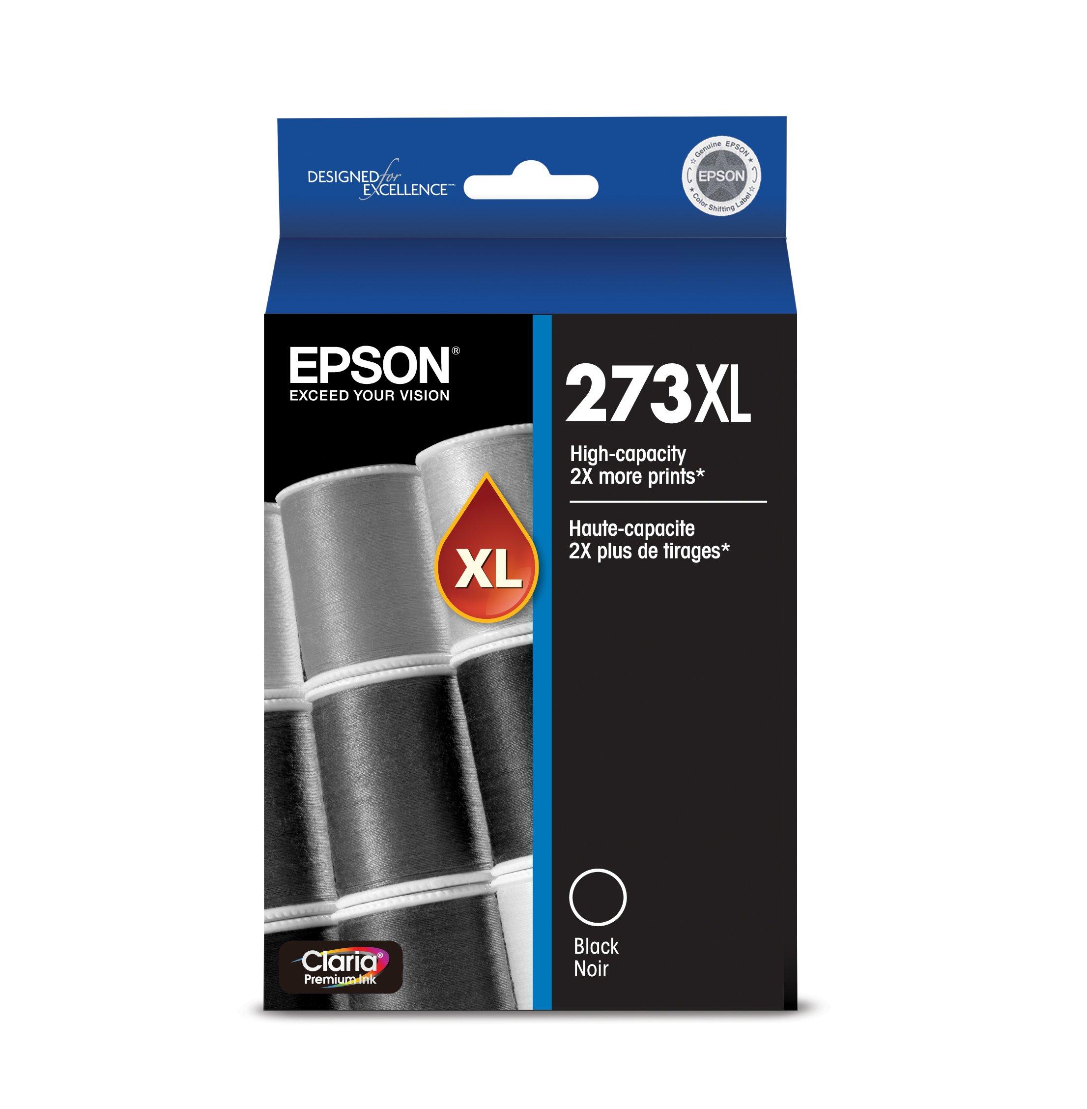 Epson T273XL020 Claria Premium High Capacity Cartridge Ink Black