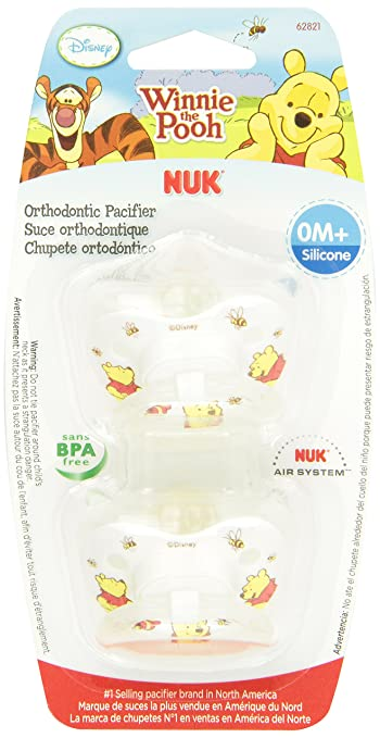 Amazon.com : NUK Disney Combo Pack Winnie the Pooh Orthodontic ...