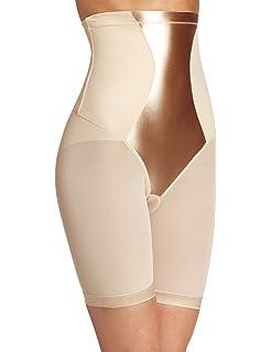 de7f7ff6d43 Maidenform Easy Up Easy Down High Waist Thigh Slimmer Women s Body Shaper
