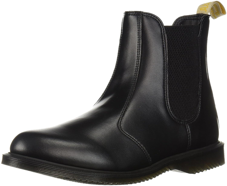 Dr. Martens Women's Vegan Flora Black Ankle Boot B0747J6J12 9 Medium UK (11 US)|Black