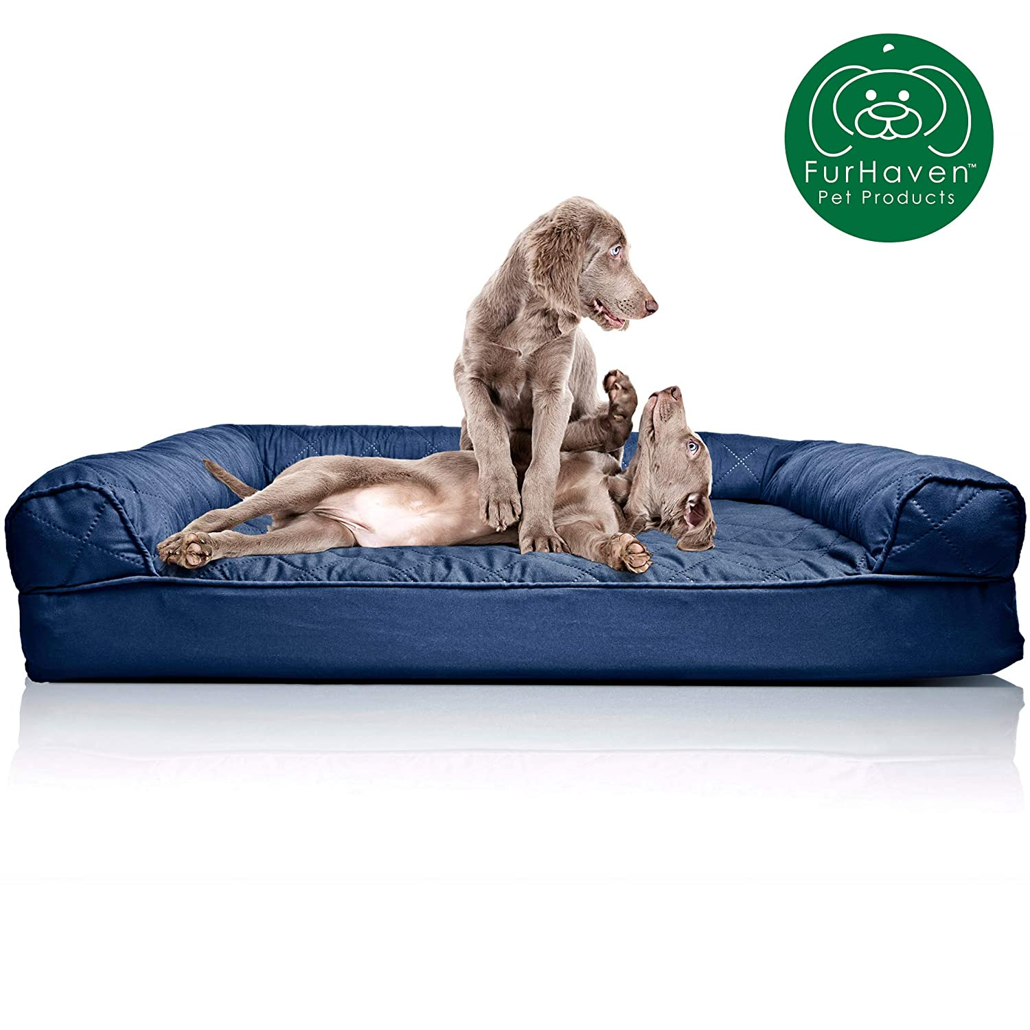 Pleasing Furhaven Pet Dog Bed Orthopedic Sofa Style Traditional Living Room Couch Pet Bed W Removable Cover For Dogs Cats Available In Multiple Colors Gmtry Best Dining Table And Chair Ideas Images Gmtryco