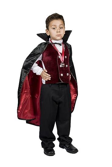 Amazon Com Monika Fashion World Boys Kids Vampire Halloween Costume