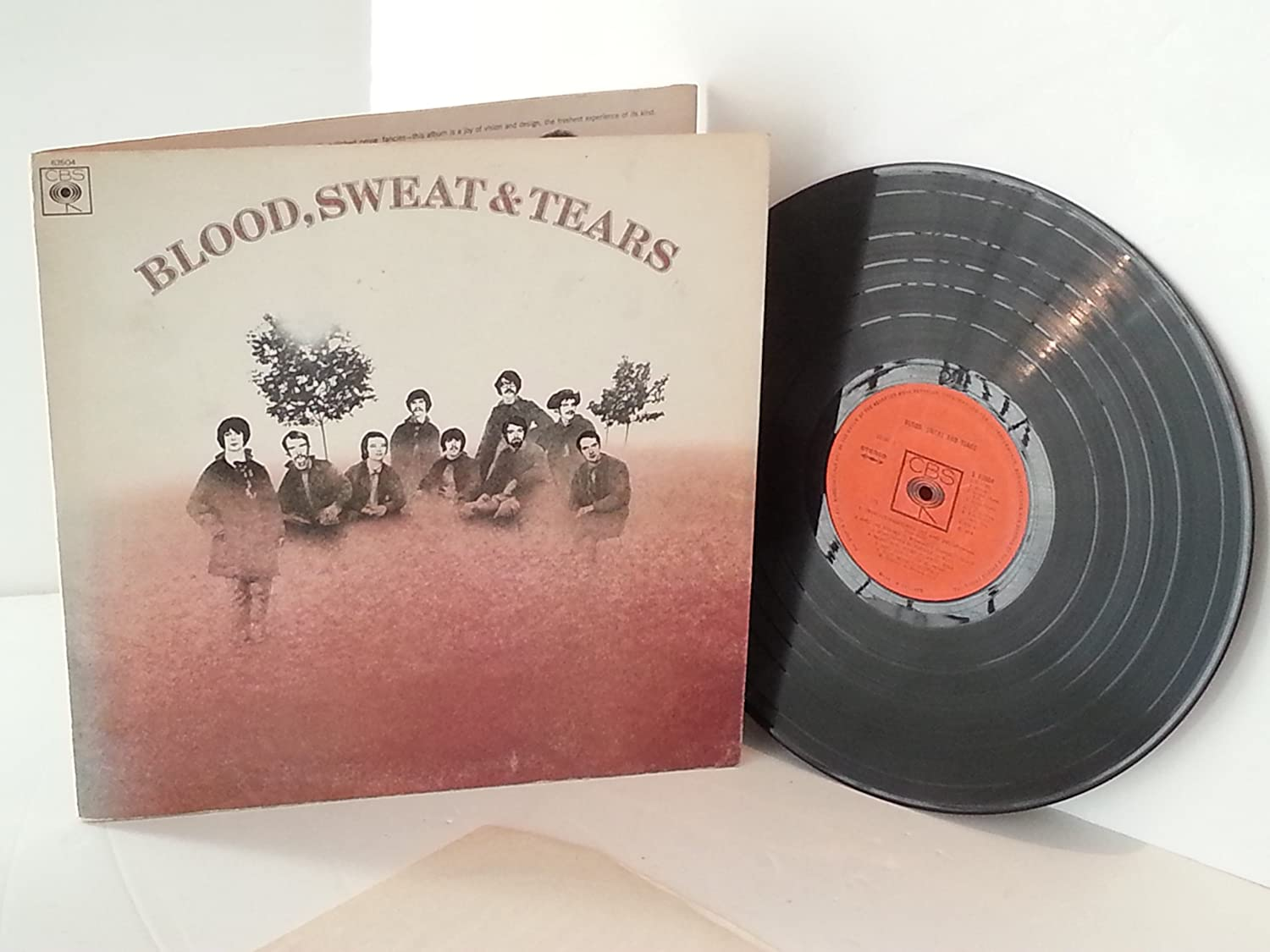 Blood Sweat & Tears BLOOD SWEAT & TEARS. First UK pressing on the ...