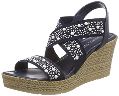 802a1900165 MARCO TOZZI Women s 28345 Sling Back Sandals  Amazon.co.uk  Shoes   Bags